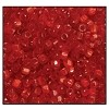 Czech 9/0 3-cuts seed bead hank 95081 (RED SATIN)
