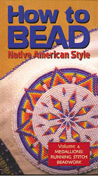 How to Bead, Vol. 4 - Medallions & Running Stitch-DVD