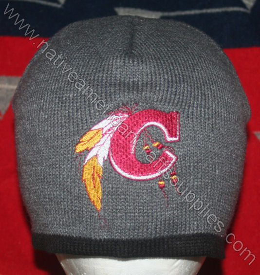 "Embroidered Cherokee ""C"" Knit Beanie"