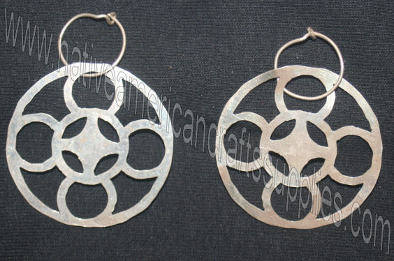 Fire and Winds Earrings 2""